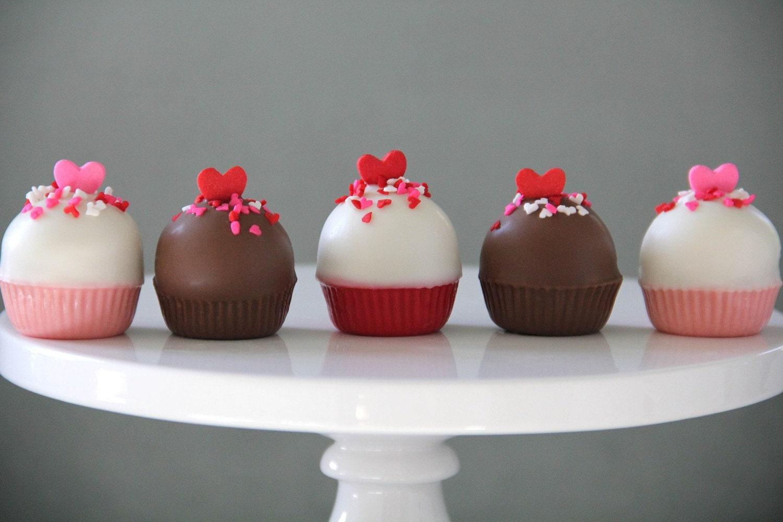 Valentine's Day Cupcake Bites (12)