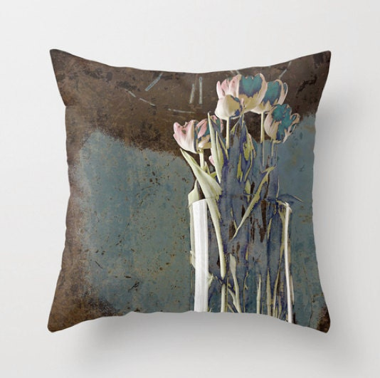 turn back the hands of time - pillow cover - inourgardentoo