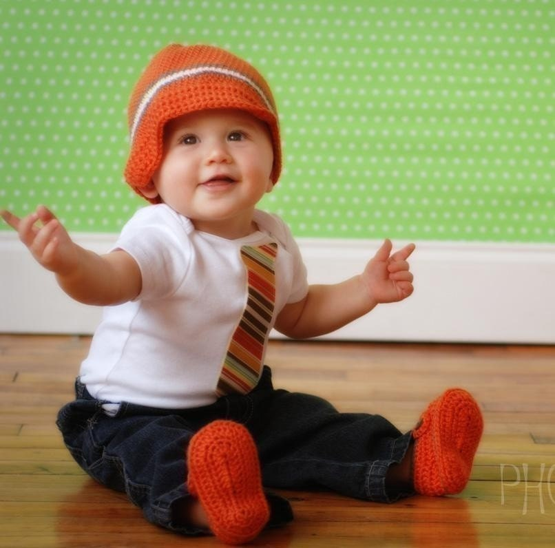 GET THE SET AND SAVE - Beanie and Tie One-Z - Professional Baby Shower Gift Set 0-3m