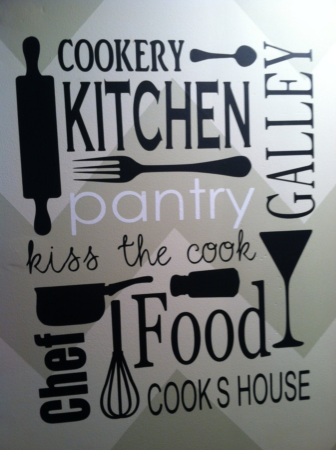 Vinyl Wall Decal Kitchen Pantry