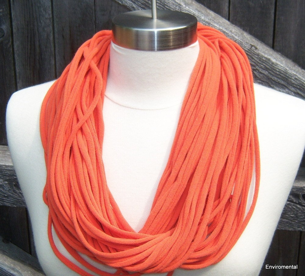 Loop-Tee-Do - Recycled Tee Shirt Necklace/Scarf Large
