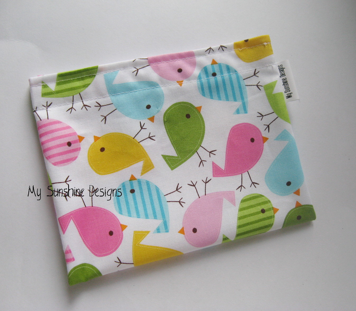Medium Reusable Bag<br>Birds
