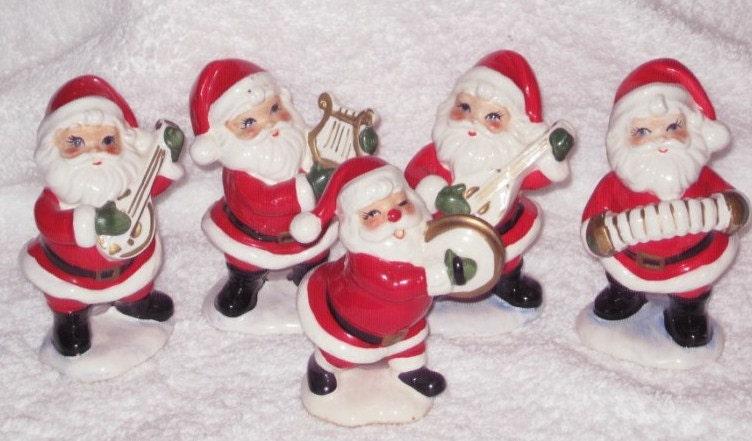 Vintage christmas santa claus band by brilbunnyselections