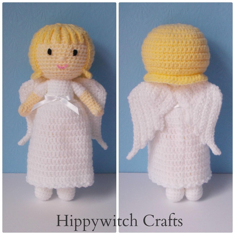 Angela the angel doll crochet toy stuffed toy