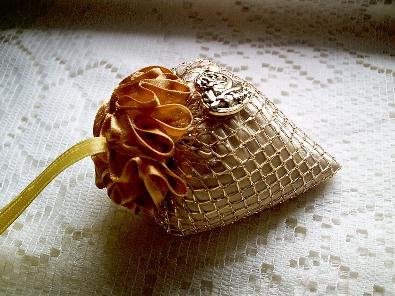 Strawberry Style Lavender Sachet Ornament