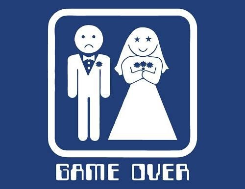 GAME OVER t shirt wedding funny tuxedo bachelor party humor Navy