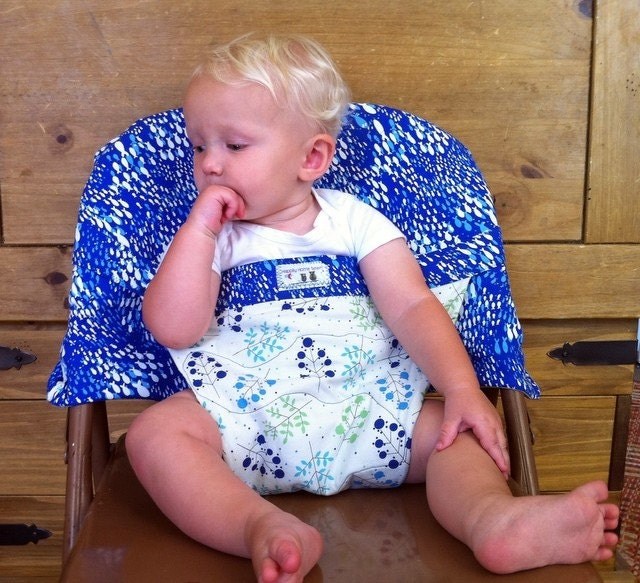 how to make a portable fabric high chair