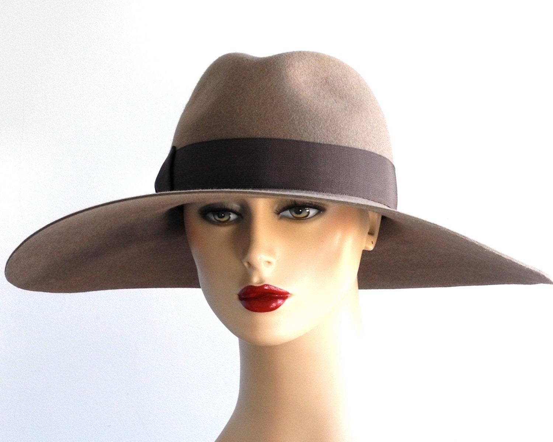 wide brimmed fedora hat fashion fall by