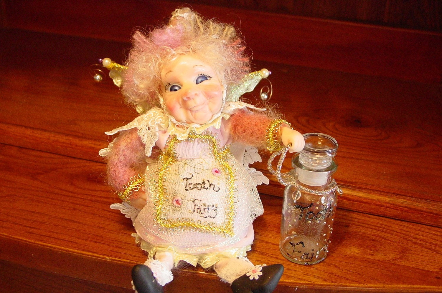 Fairy Fairies Tooth Fairy Doll By Debbie Nelson