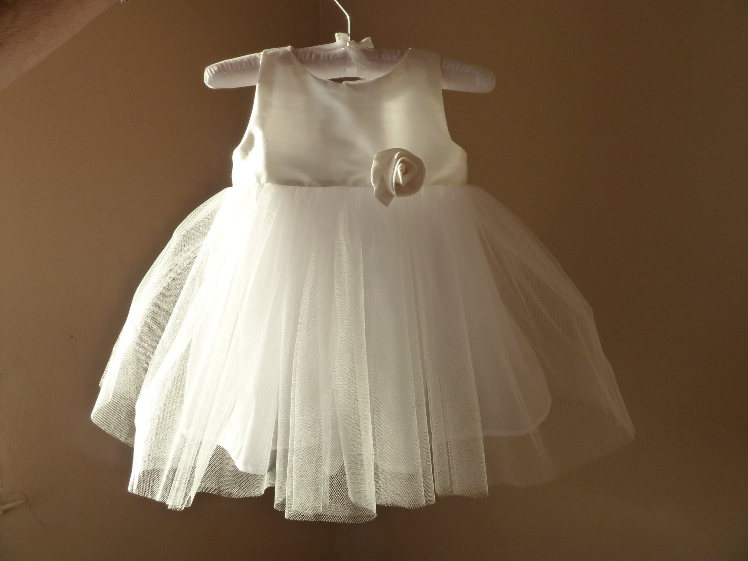 Baby Dress Christening Dress For Baby Girl By JibJabbers