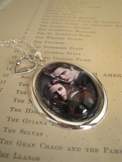 Bella and Edward Together Necklace