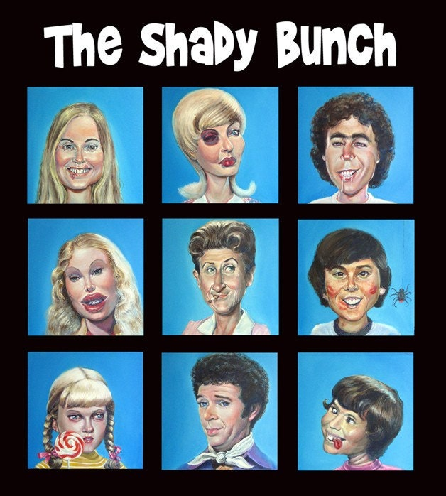 "Limited Edition signed and Numbered print ""The Shady Bunch"" 13""x 17"" by Richard J Frost"