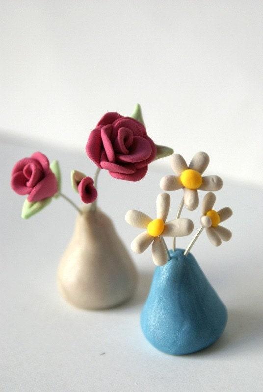 Daisy Vase for yorkielady