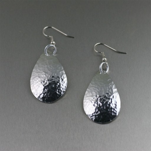 Unusual 10th Wedding Anniversary Gifts : ... Tear Drop EarringsMakes a Unique 10th Wedding Anniversary Gift