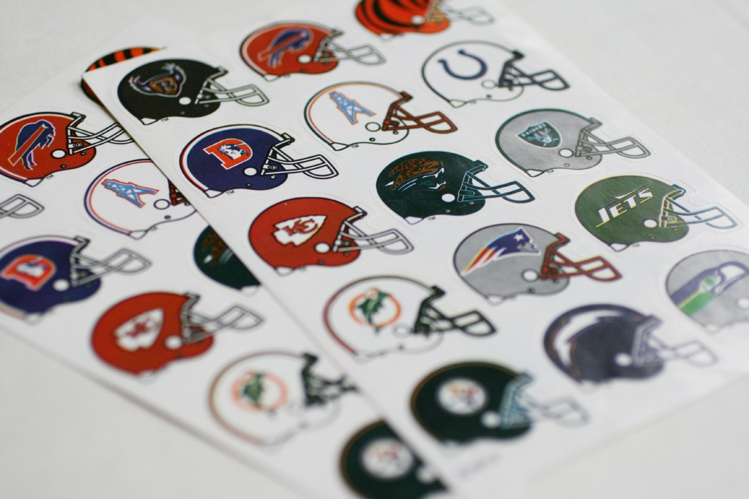 Nfl Stickers Pro Football Helmet Stickers Denver By Abatearts