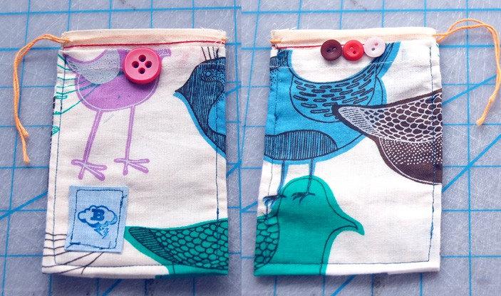 little cloth pouch