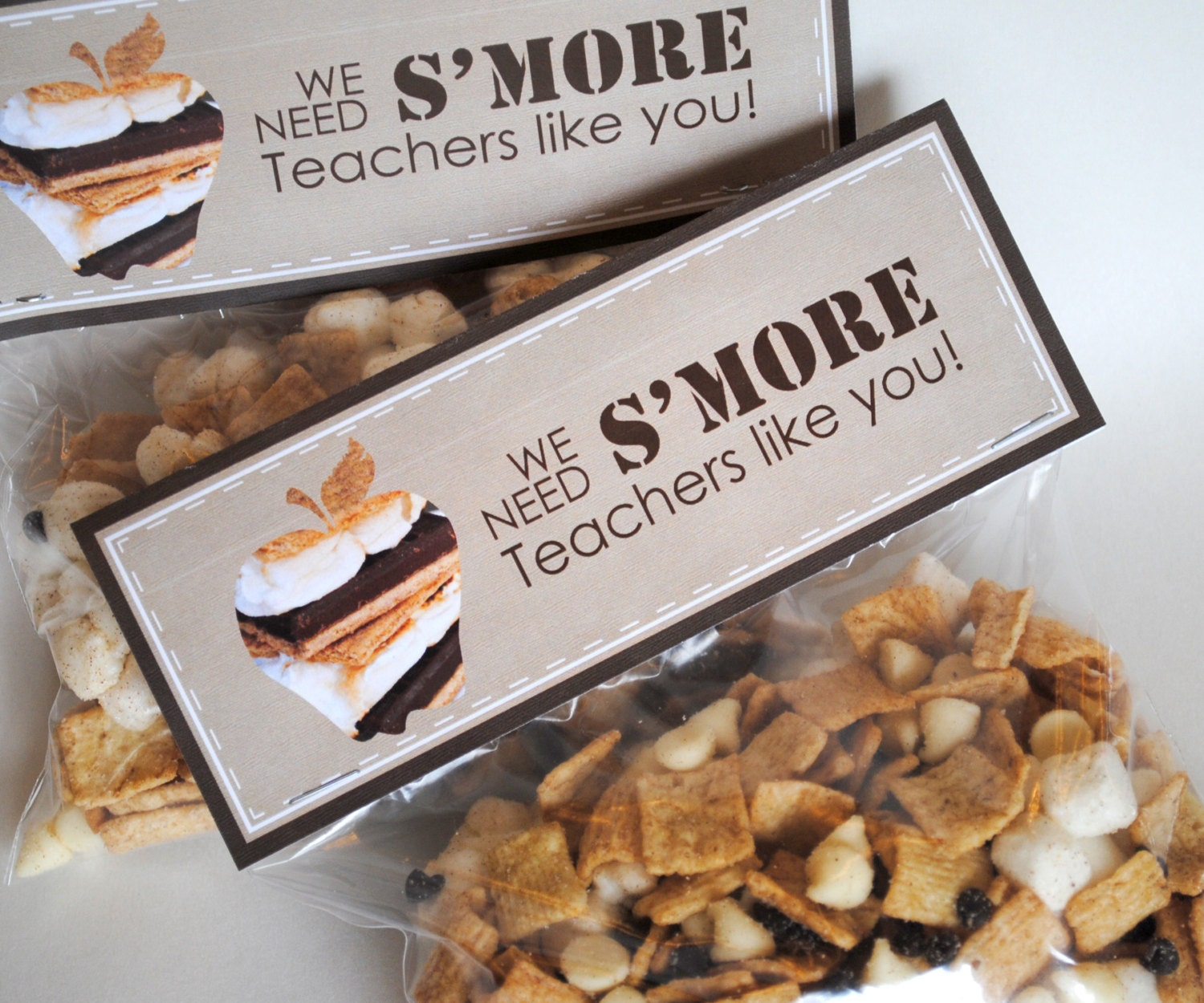 smore thank you tags | just b.CAUSE