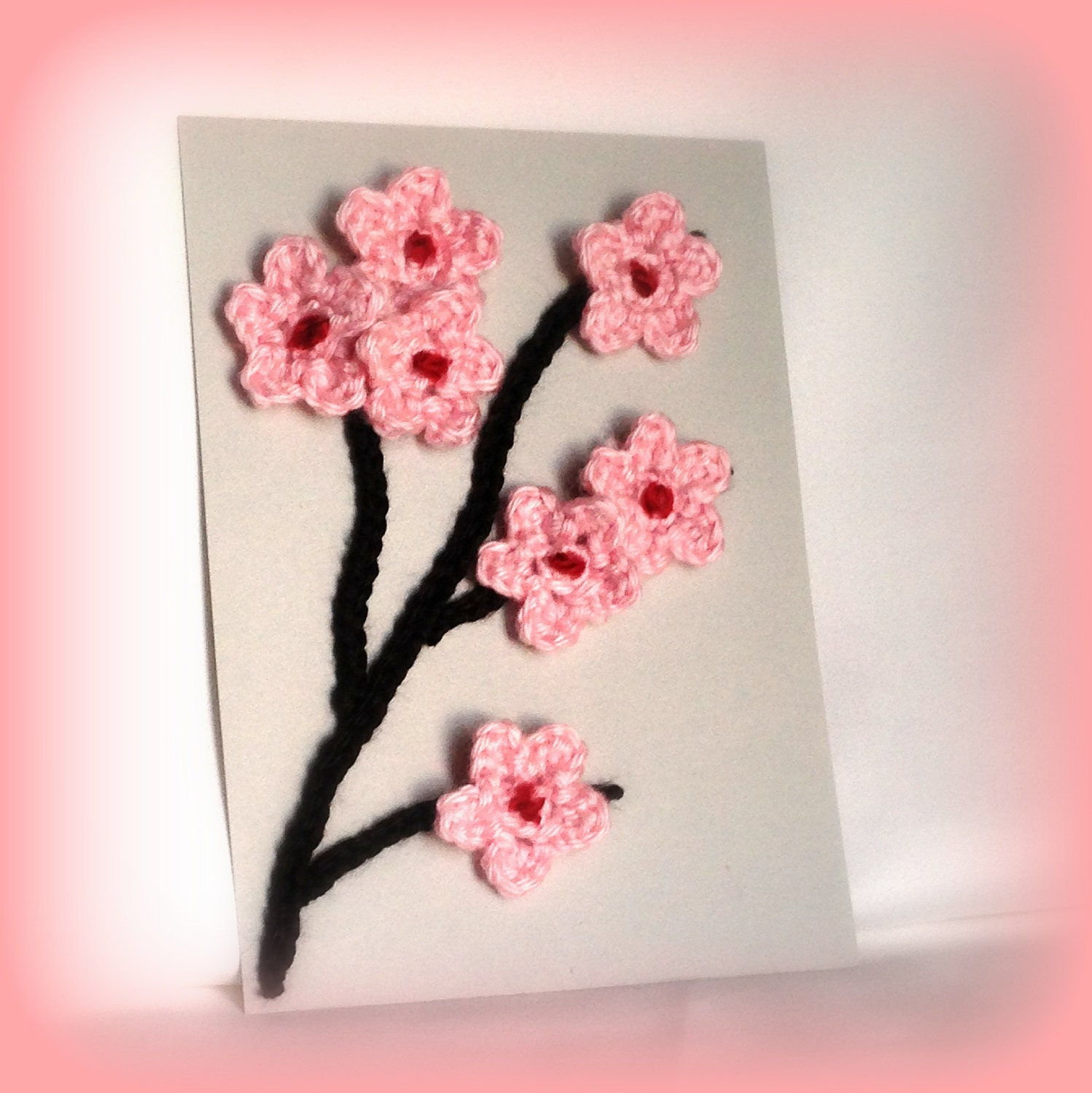 Cherry Blossom Art Pink Cherry Blossoms Framed Art by LotsALovies