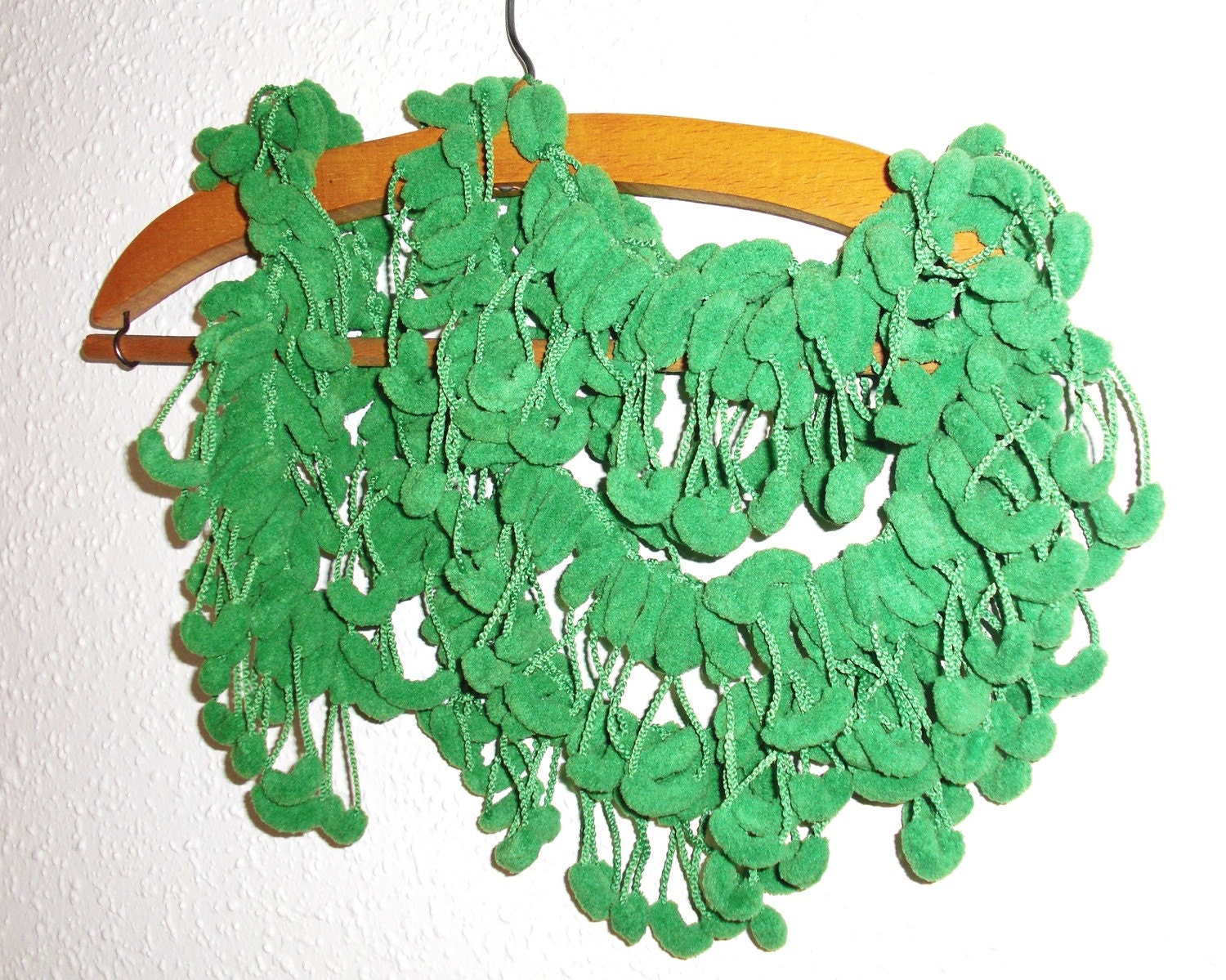SPRING FASHION Grass Green  Mulberry Scarf No5 by Ebruk on Etsy from etsy.com