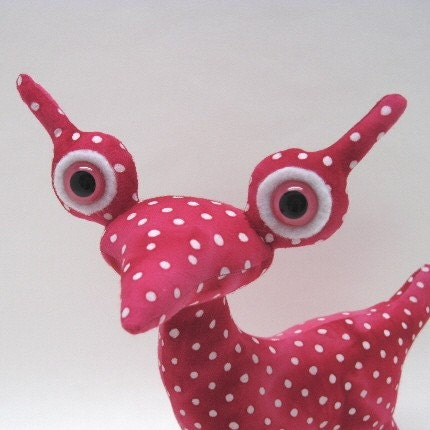 Pammy Adopt an Alien OOAK Creature Toy with Birth by AdoptanAlien