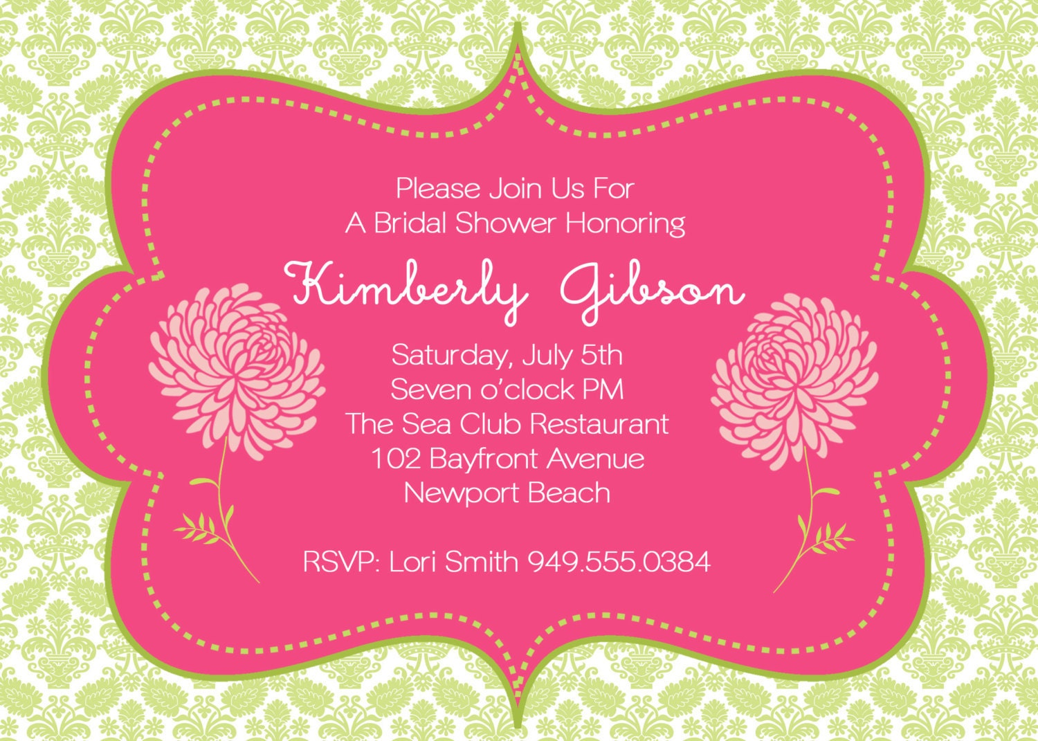 Baby Shower Invitation Online is perfect invitations sample