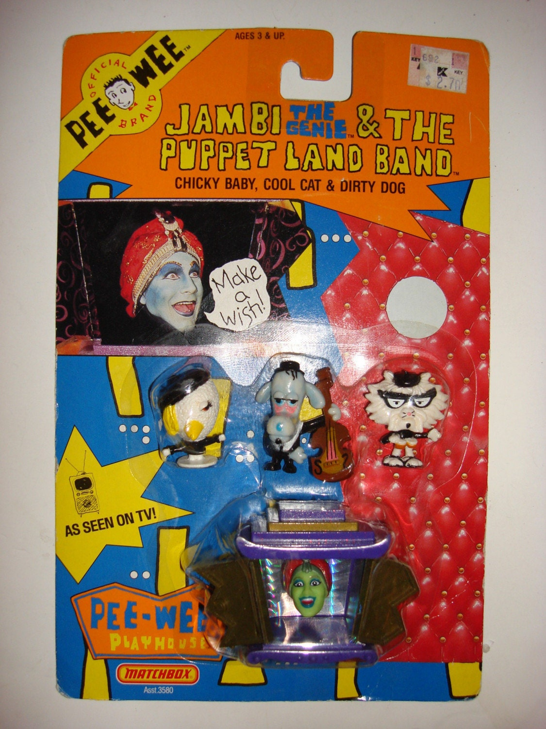 Official Pee Wee Herman Brand Figurines 1988 by TheTimeTunnel