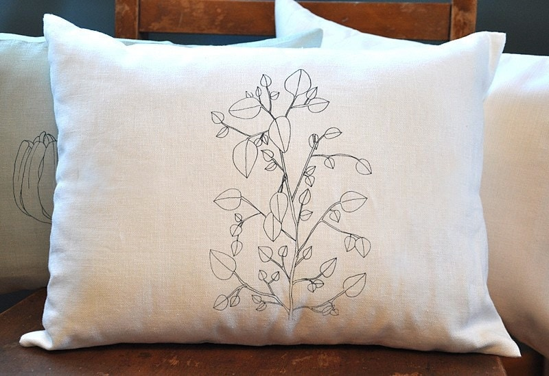 Branch Pillow Cover - small