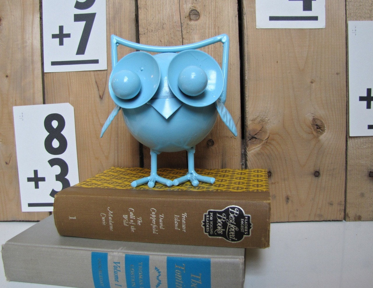 Night Owl in Aqua