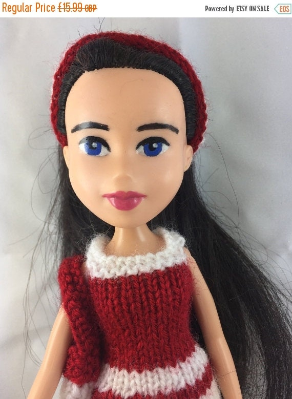 ON SALE TABITHA Ooak Repainted Recycled Bratz Doll