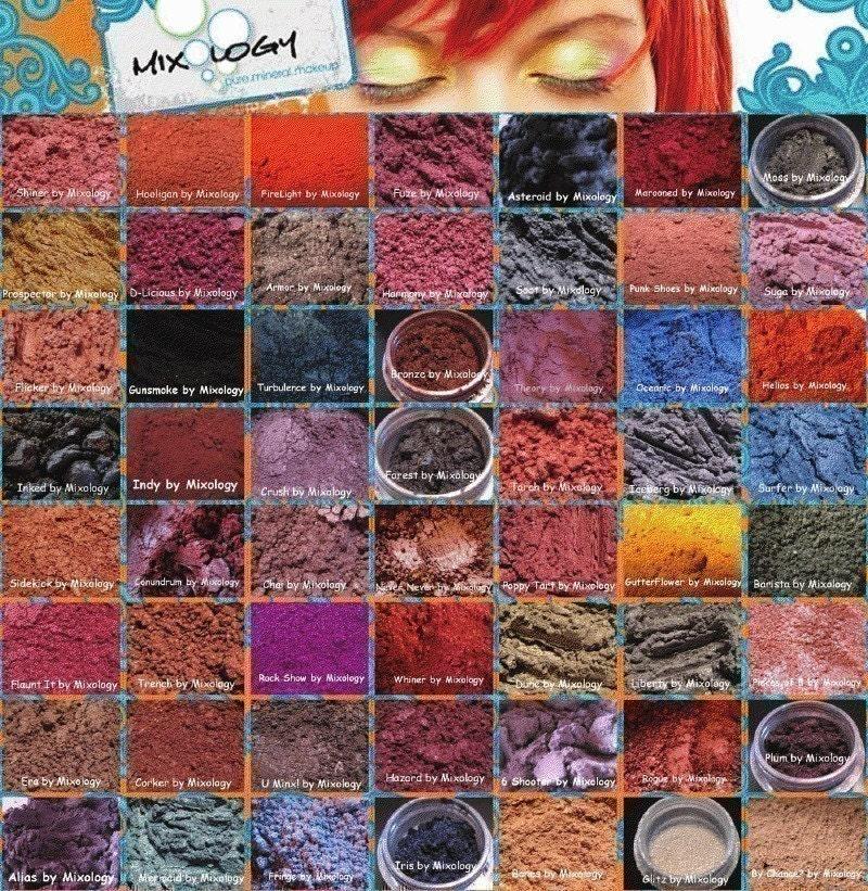 makeup. mineral makeup
