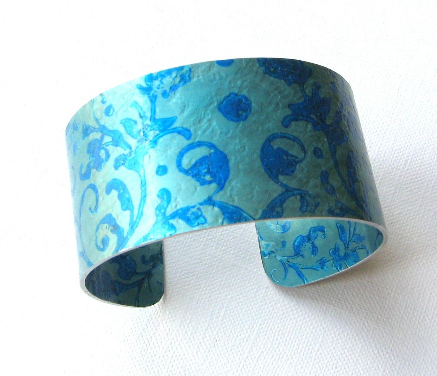 anodised aluminium cuff