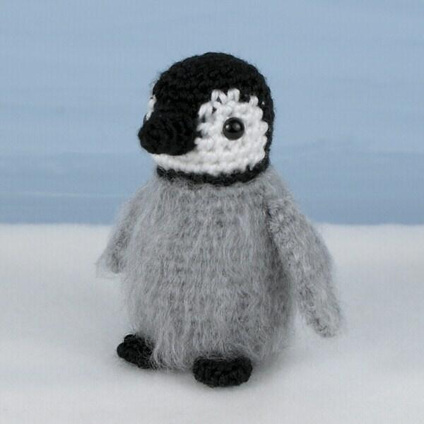Amigurumi Crochet Penguin Pattern : Item Details