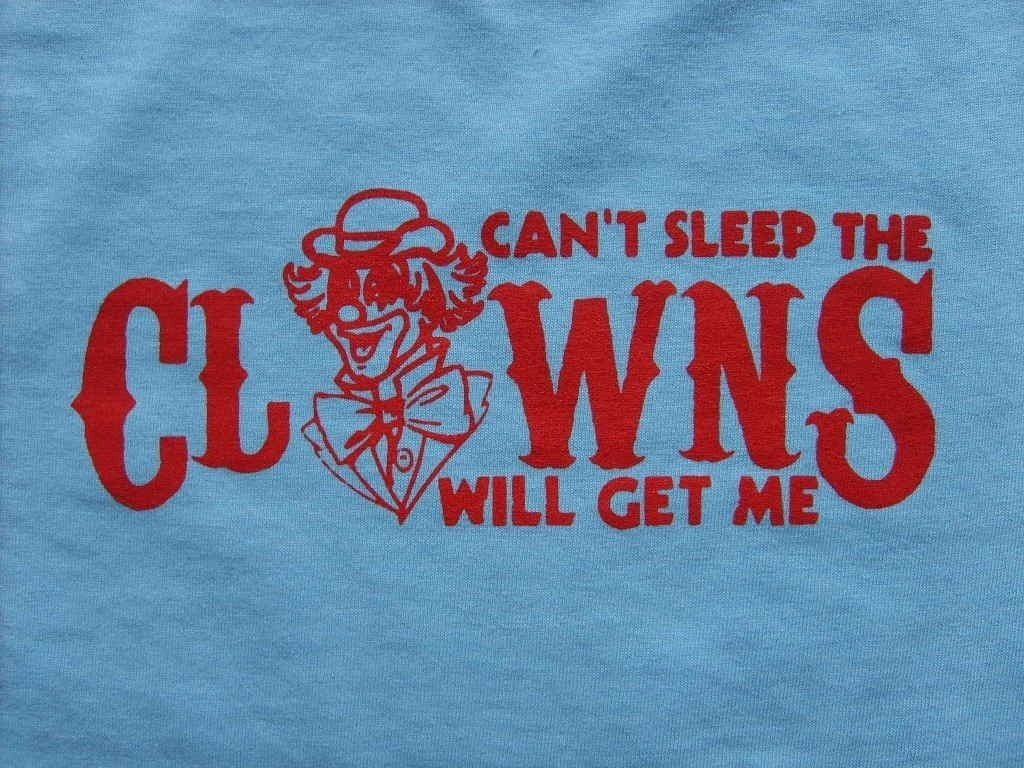 Funny Clowns T Shirt Available in Adult Sizes S,M,L,XL t shirt tshirt Unisex