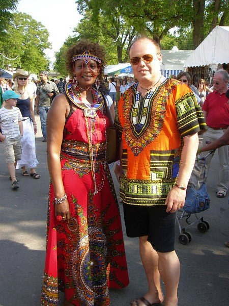 Maasai Outfit by ZolofAfrikanWears on Etsy