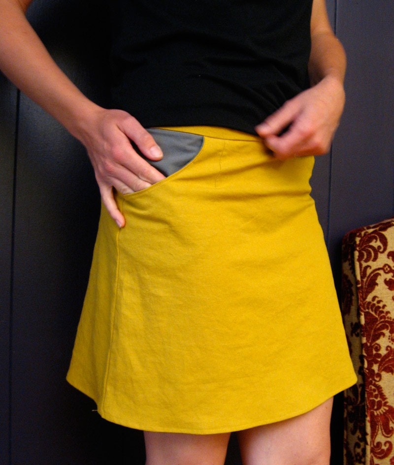 Goldfinch Pocket Skirt