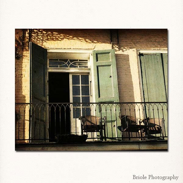 "Photograph of New Orleans French Quarter. Mardi Gras. Affordable Wall Art. 8""x10"" Louisiana Travel Print. - Briole"