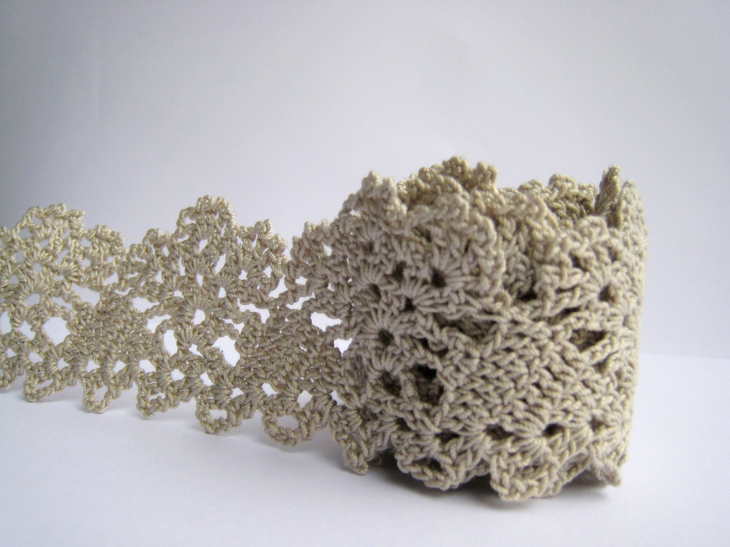 Crochet Edging : LACE CROCHET EDGING Crochet For Beginners