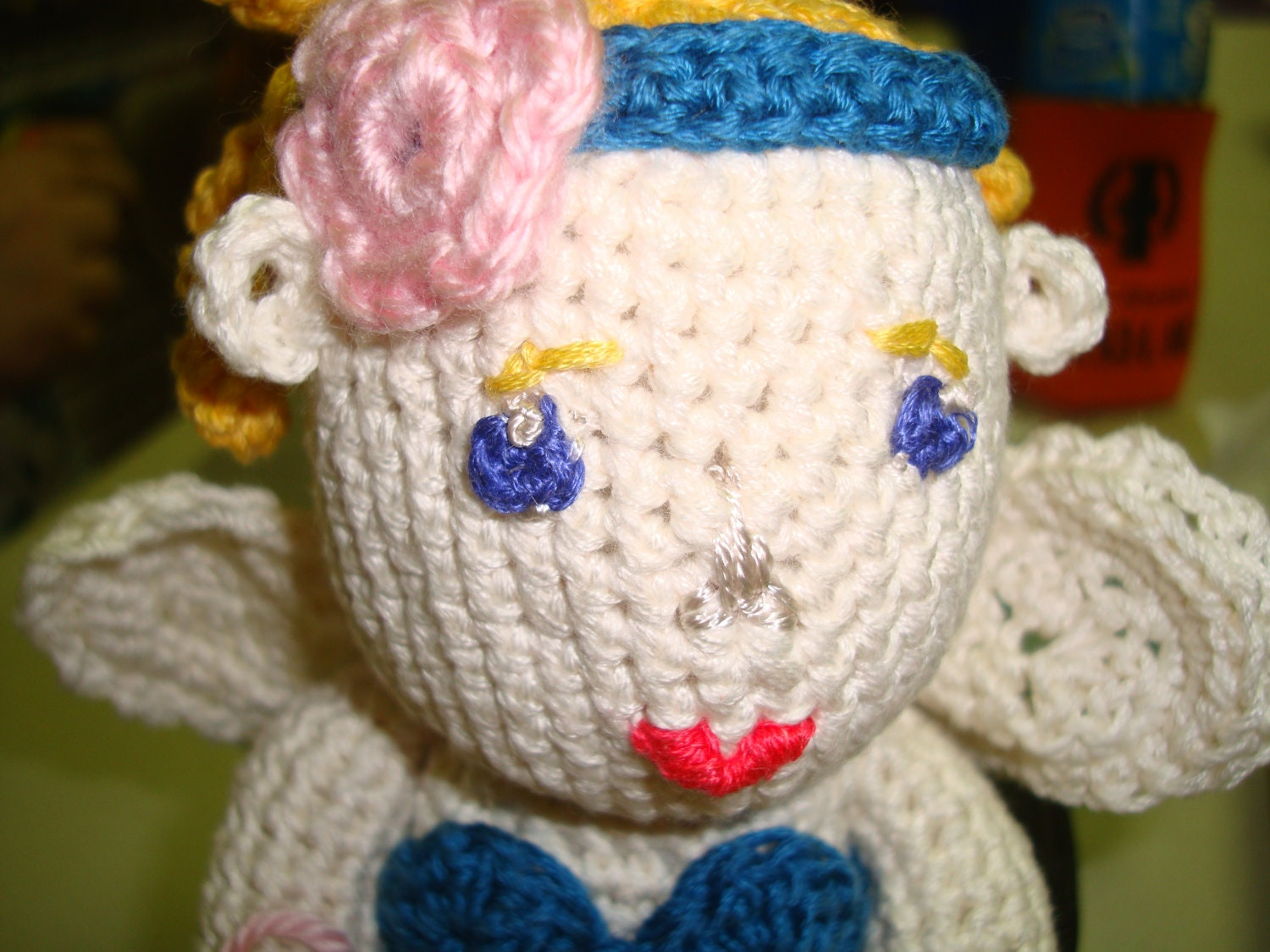 Items similar to tooth fairy doll crochet pattern pdf tutorial on etsy