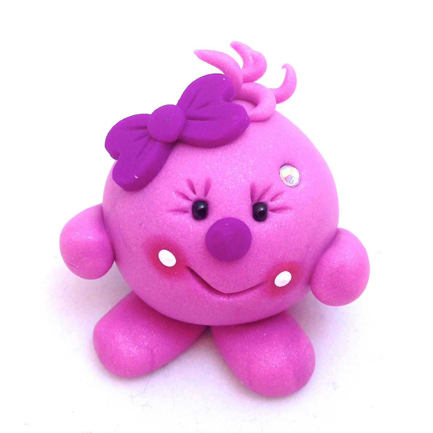 Lolly Polymer Clay Figurine from KatersAcres