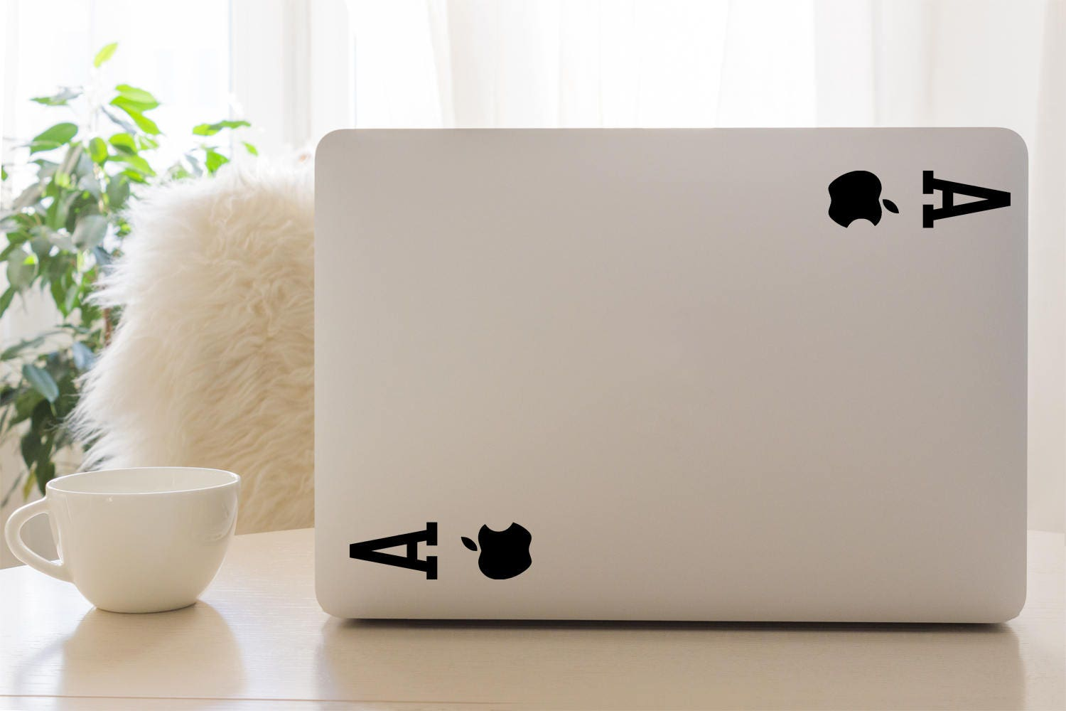 Mac Decal Ace of Apple Magician Decals Playing Cards Apple Macbook and other laptop Stickers