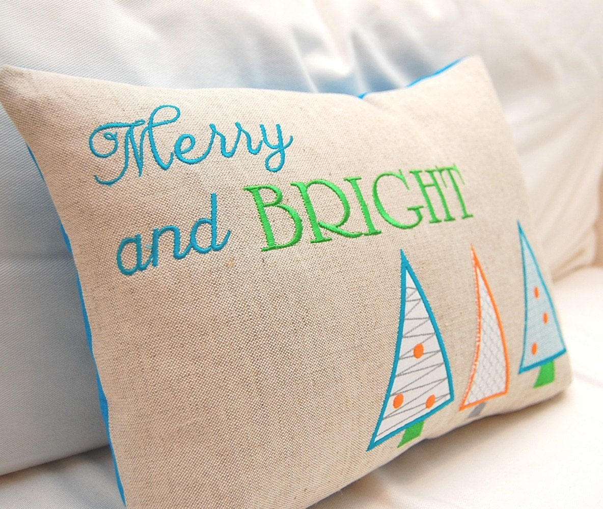 Merry and Bright Machine Embroidery Design