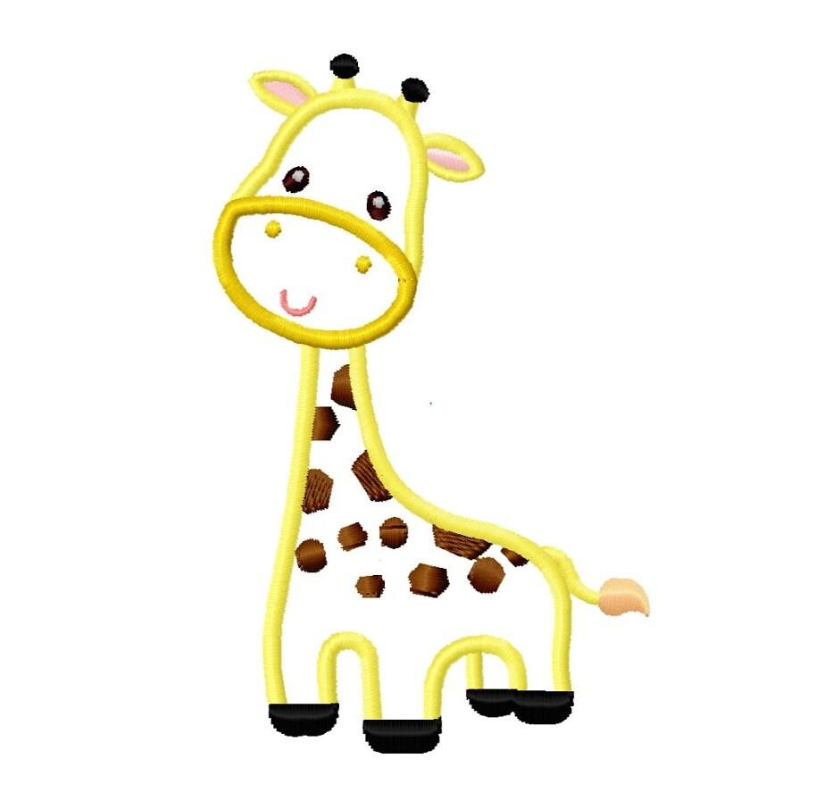 Giraffe Machine Embroidery Designs   Makaroka.com