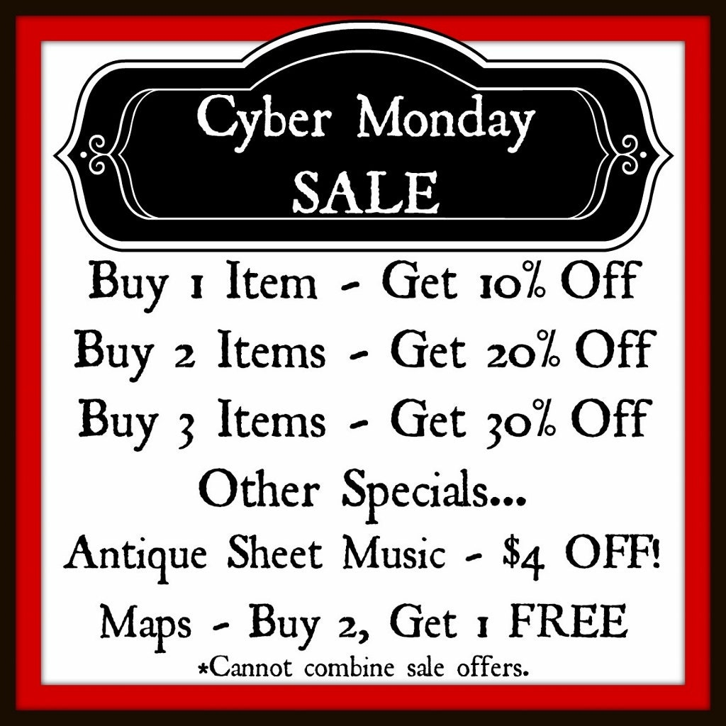 CYBER MONDAY SALE - Discount, Christmas Shopping, Holiday