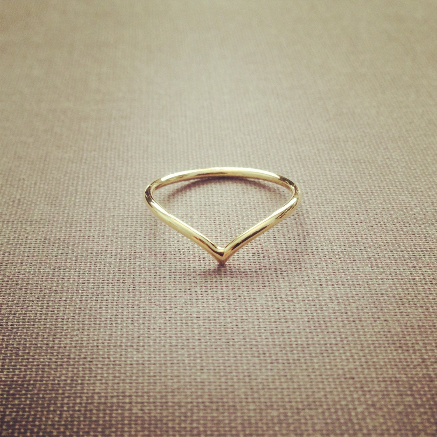 items similar to simple wire ring adorable pretty