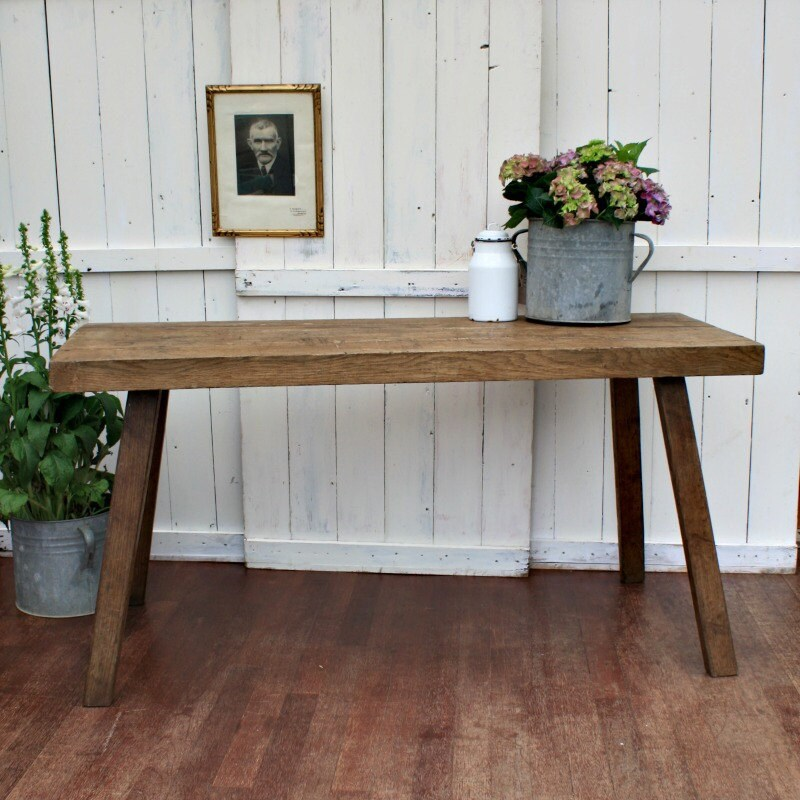 Oak Table  Table  Dining Table  Rustic Table  Industrial Table  Industrial Furniture  Vintage Table  Kitchen Table