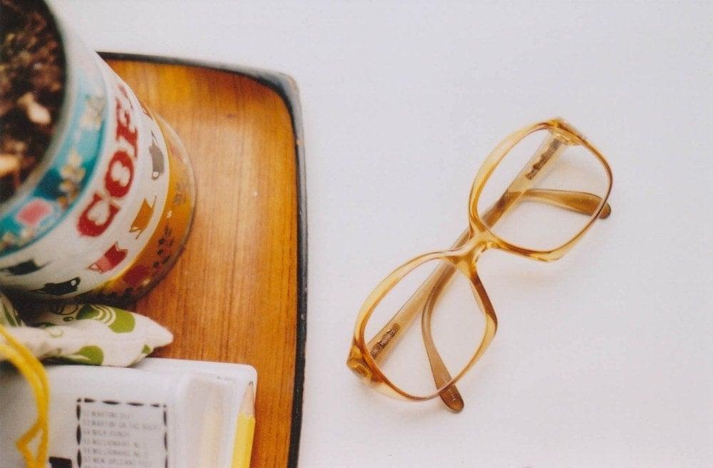 glasses 5x7 inch print