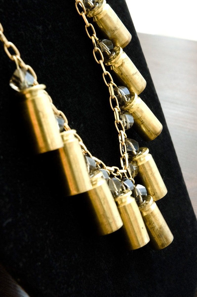Bullet Cascade necklace