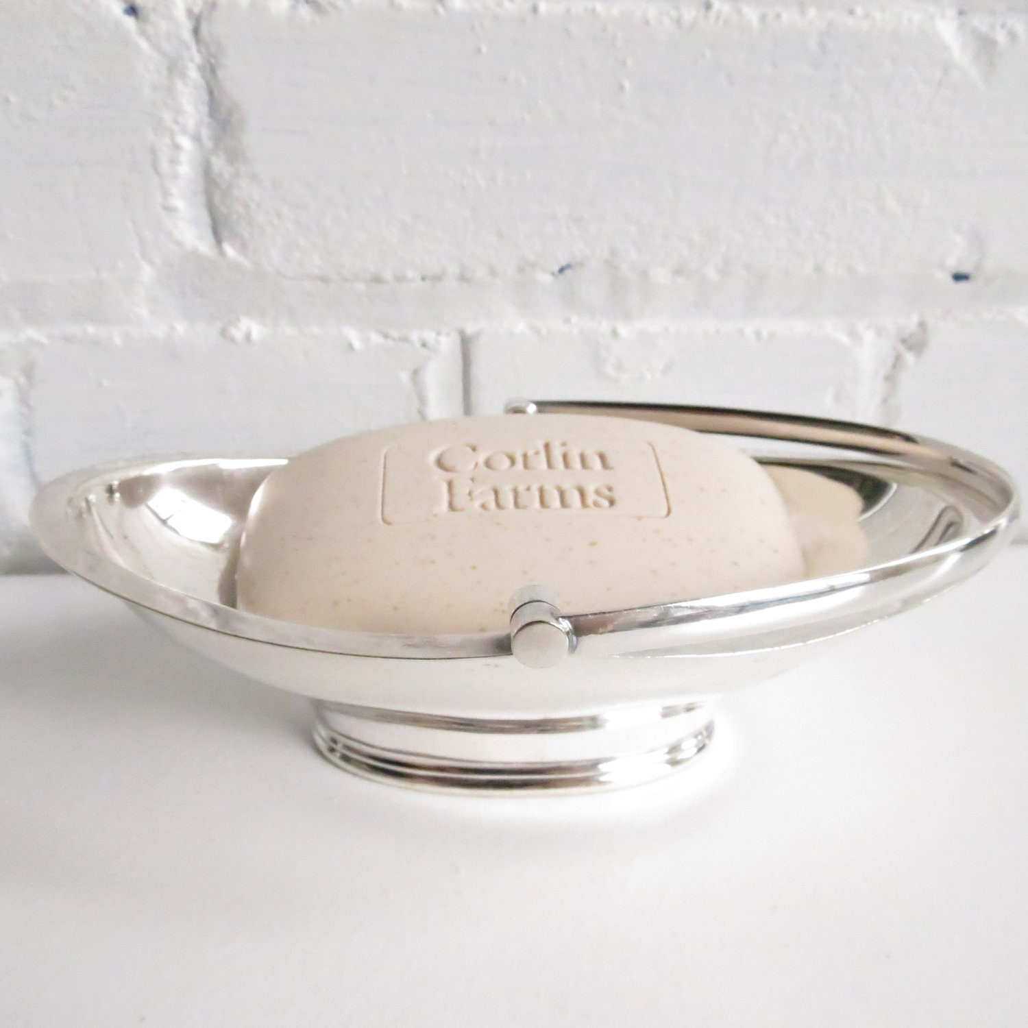 Mark Willis and Sons Silver Soap Dish