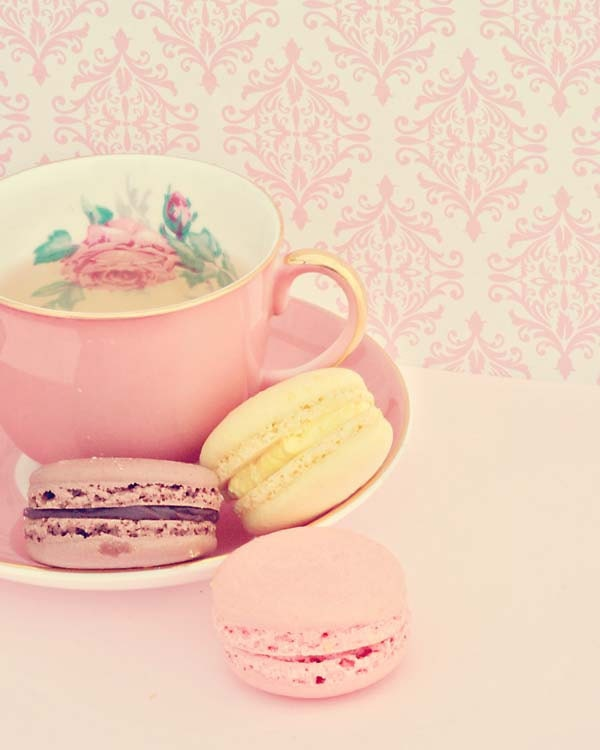 Macaron Dessert Food Photography Kitchen Decor 8x10 - LittleFotoFox