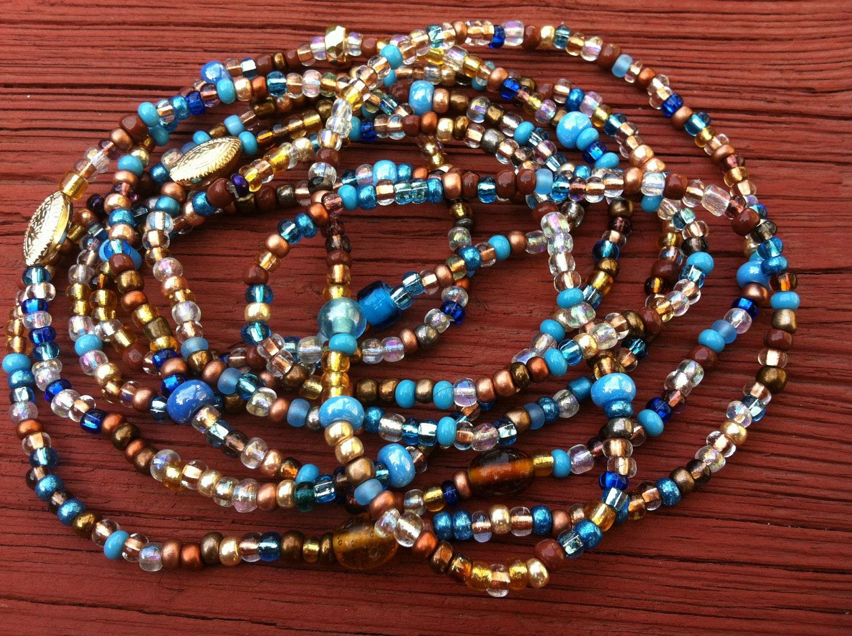 CLEOPATRA Set of 2 African Waist Beads